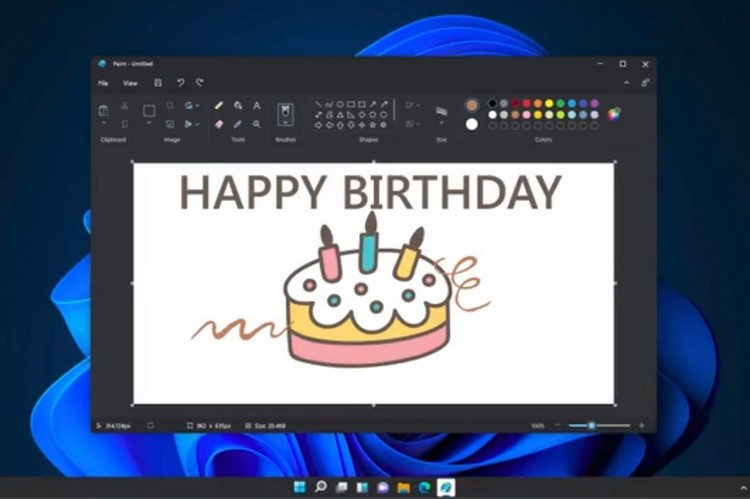 Microsoft Paint redesign feat 1