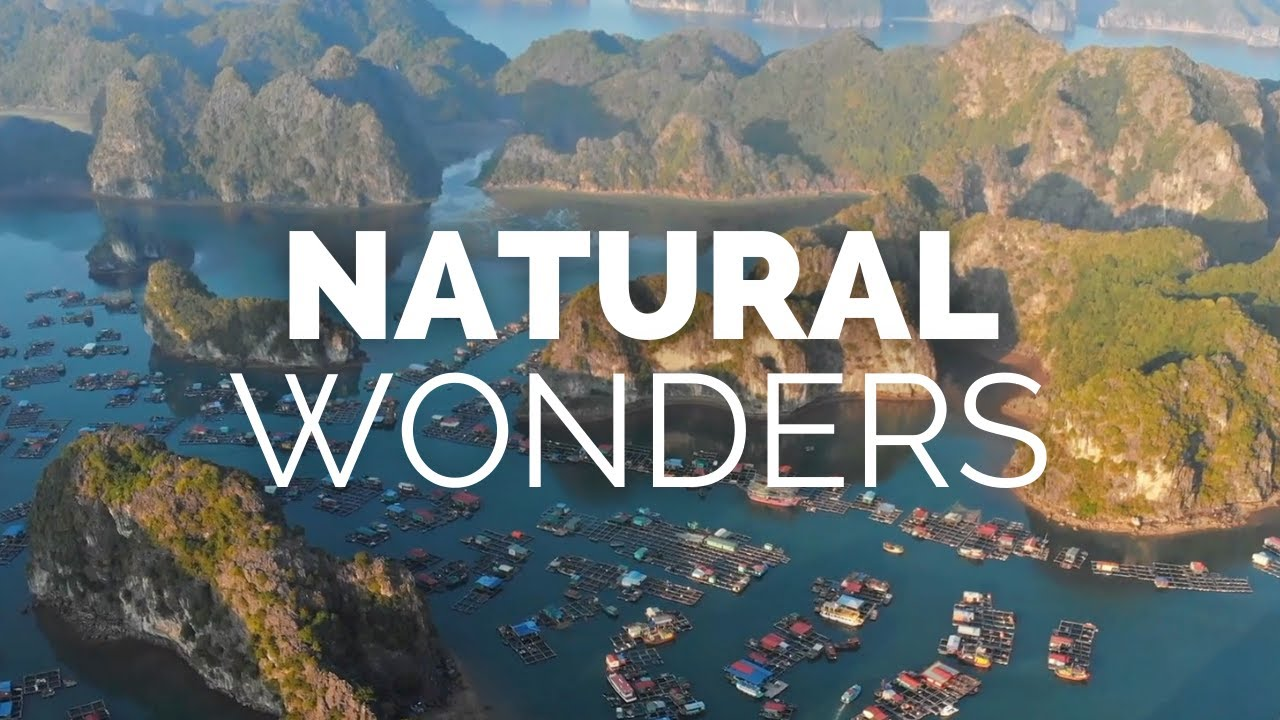 25 Greatest Natural Wonders of the World Travel Video