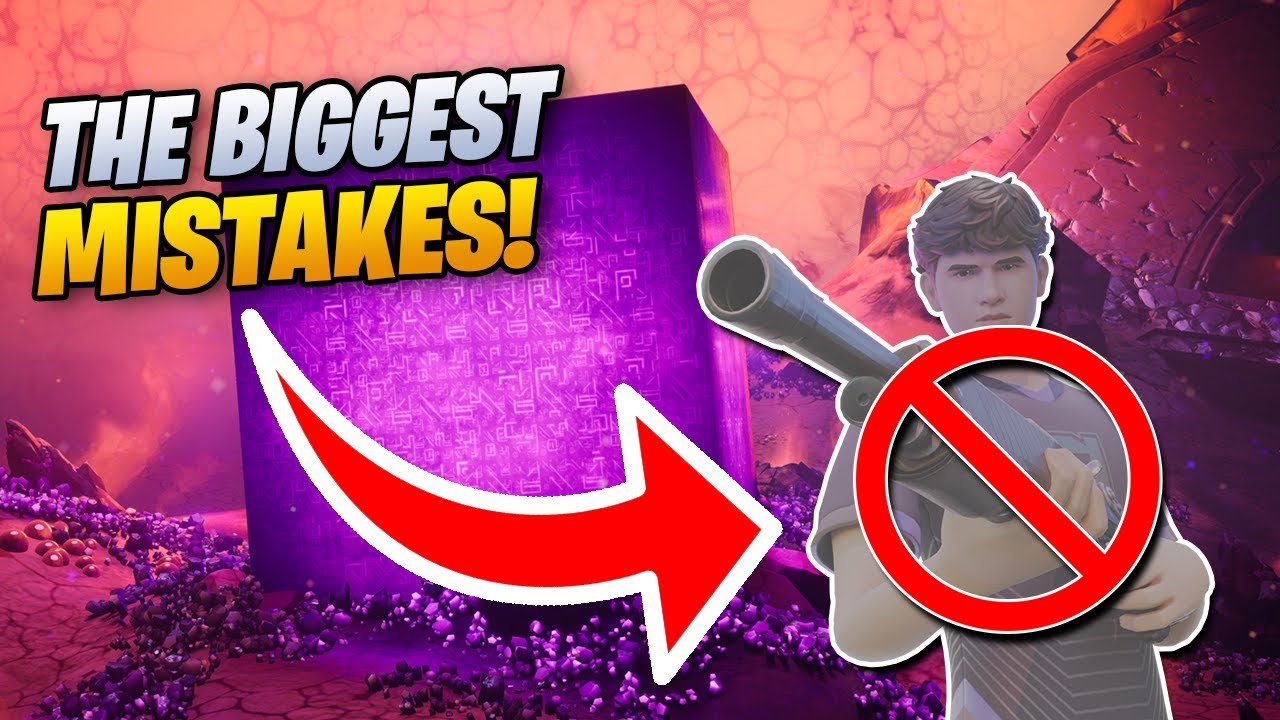 6 SIMPLE MISTAKES Youre STILL MAKING in Fortnite Season 8
