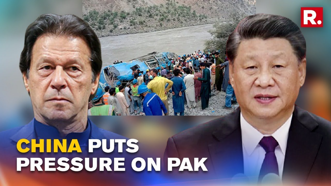 China Turns Up Heat On Pakistan Demands Extra Security For