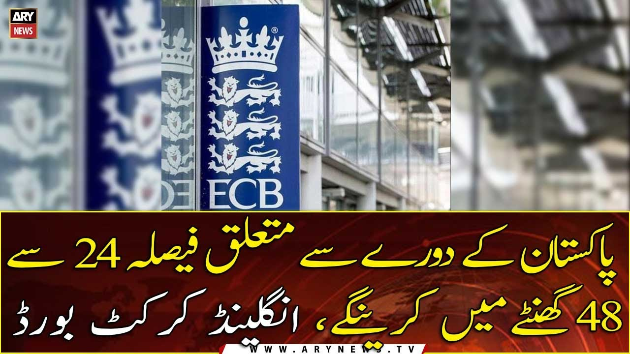 ECB to decide touring Pakistan within 48 hours