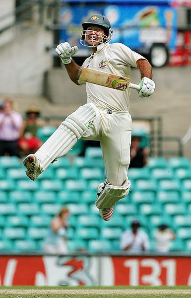 Ricky Ponting's international career - in pictures