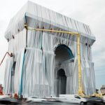 Surprise and disdain as tourists discover Arc de Triomphe wrapped in fabric