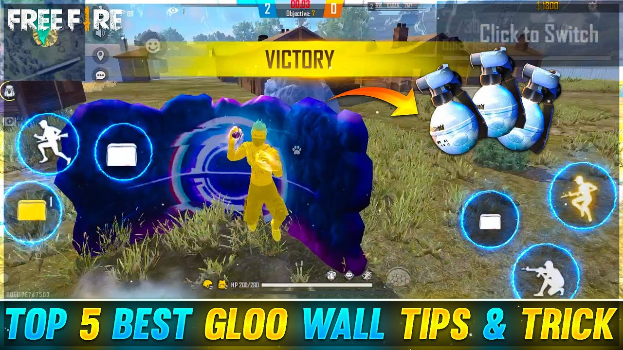 TOP 5 BEST GLOO WALL TIPS TRICK