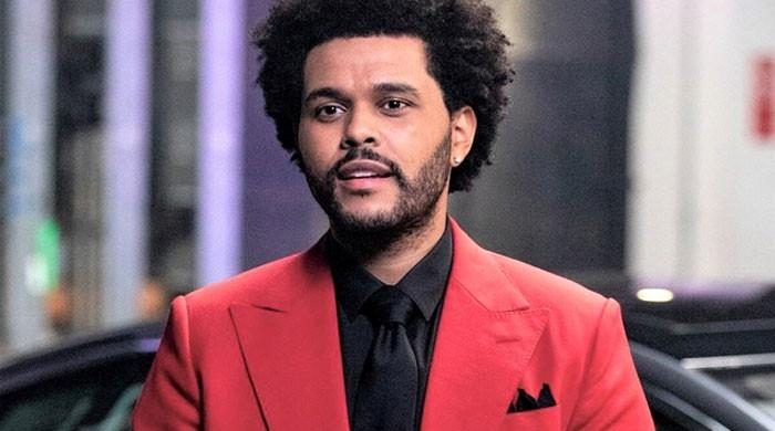 The Weeknd unveils new 'I Cant Feel My Face music