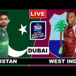 ICC Men's T20 World Cup 2021 | Live Streaming | PAK vs WI | Live Score & Commentary
