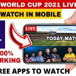 How to watch t20 worldcup free on Mobile |  T20 Worldcup 2021 Match live free | Top 4 Apps to watch