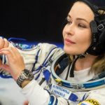 Russian crew back to Earth after filming first movie in space