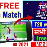 Watch Free T20 World Cup 2021 All Match here | All Free Apps/Apk For T20 world Cup @Tech in Hindi