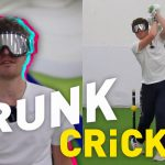 We Played Cricket DRUNK for the FIRST Time Ever & It went VERY Wrong: Facing Bowling Machine